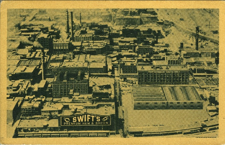 [The Chicago plant of Swift & Company]