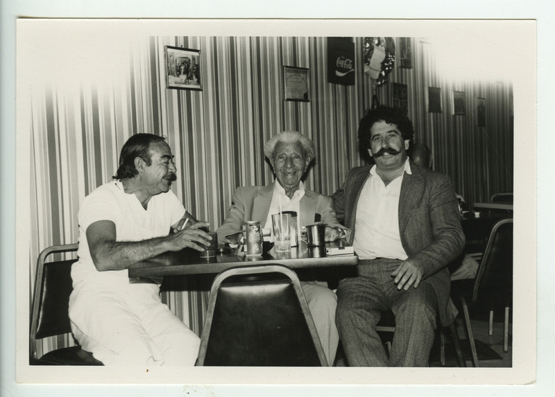 Ο Γιώργος Κατσαρός (Θεολογίτης), ο Παναγιώτης Κουνάδης και ο Δημήτρης Τζάρας