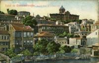 Salut de Constantinople, Vue de Fanar sur le Corne d' or
