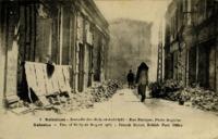 Salonique, Incendie des 18-19-20 Août, Rue Franque, Poste Anglaise