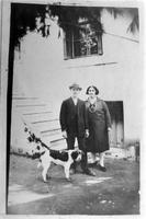 Ο Παναγιώτης Τούντας με τη σύζυγό του