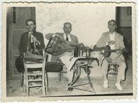 Ορχήστρα με Δ. Λαδόπουλο, Λ. Σαββαΐδη, Δ. Ατραΐδη