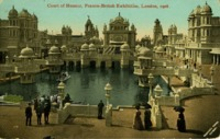 Court of London, Franco-British Exhibition, London, 1908