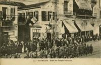 Salonique, Défilé des Troupes Italiennes