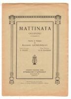 Ματτινάτα (Aubade)