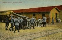 Salonique-Grosse artillerie