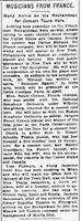 Η άφιξη της Θ. Σαμπανιέβα στη Νέα Υόρκη το 1923
