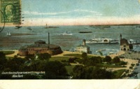 Castle Garden (Aquarium) and Battery Park, New York