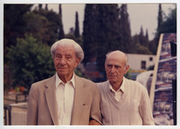 Ο Γιώργος Κατσαρός (Θεολογίτης) και ο Σταύρος Καραμανιώλας