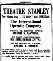 Ο Δ. Ζάττας, η Β. Παντοπούλου και η Μ. Καρνέρη στην Αυστραλία το 1923 (2)