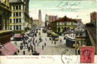 Herald Square and Times Building, New York