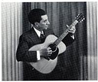 Ο Γιώργος Κατσαρός (Θεολογίτης) στα τέλη της δεκαετίας του 1930