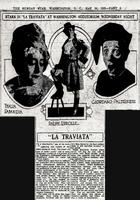 Η Θ. Σαμπανιέβα και η Ά. Κριωνά στη Washington Opera το 1925