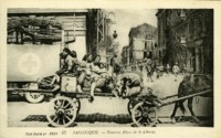 Salonique, Sinistrés Place de la Liberté
