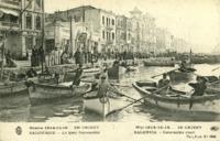 Guerre 1914-15-16... En Orient, Salonique, Le quai Constantin
