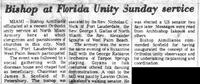 Εμφάνιση του Γ. Κατσαρού (Θεολογίτη) στη Φλόριντα το 1970