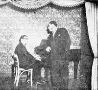 Ο Γ. Βιτάλης και ο Μ. Διαμαντής στο